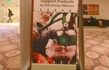 "ASALA opens ""Support the Palestinian women product"" exhibition"