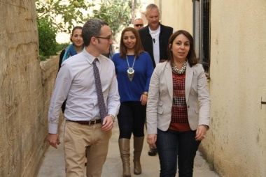 ASALA, American Consulate visit to the Naqoura Economical Club Yesterday
