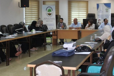 ASALA carries out awareness activities in Chambers of Commerce and Industry in West Bank