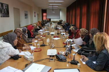 "ASALA officially hands over strategic plan of Leading Hebron Women Network to Hebron ""Tawasul"" Center"
