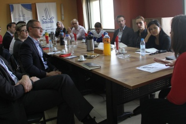 ASALA Association, Asala Development and Loan Company receive Australian diplomatic delegation