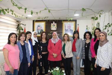 ASALA meets Palestinian Minister of Women Affairs