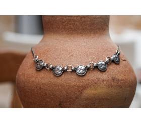 A Necklace of vintage silver