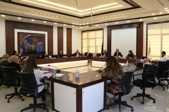 Asala Association, Ramallah and Al-Bireh Chamber of Commerce form mini-women's advisory council